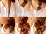 Simple Hairstyles Bow 15 Simple and Easy Hairstyles with Useful Tutorials