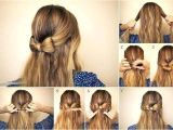 Simple Hairstyles Bow Hair Bow Hairstyle Diy Hairstyle Pinterest