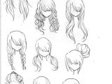 Simple Hairstyles Drawing Draw Realistic Hair Drawing Ideas