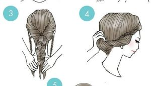 Simple Hairstyles Drawing Simple Step by Step Illustrations Show Fun Ways to Style Your Hair