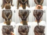 Simple Hairstyles for Everyday at Home Step by Step Up Do to Create An Easy Hair Style that Looks Lovely