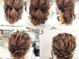 Simple Hairstyles for Work 25 Inspirational Cute Updo Hairstyles for Short Hair