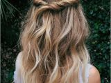 Simple Hairstyles Half Up Half Down 4 Easy and Cute Hairstyles for Fall In 2018 Beauty