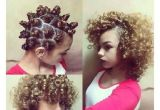 Simple Hairstyles No Heat 💗bantu Knots A Great Way to No Heat Natural Looking Curls so