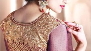 Simple Hairstyles On Lehenga Choli Image Of Lehenga Choli Hairstyle Lehenga Hairstyles