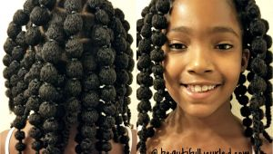 Simple Hairstyles Puff Cute and Easy Hair Puff Balls Hairstyle for Little Girls to