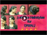 Simple Hairstyles Puff Diwali Special Hairstyles 3 Cute Simple Hairstyles Puff Hairstyle