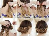 Simple Hairstyles Step by Step for Long Hair Hairstyles Step by Step Beautiful Easy the Eye Easy Braid Hairstyles