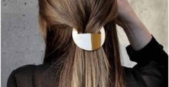 Simple Hairstyles Using Clips 85 Best Stylish Hair Accessories Images On Pinterest