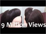 Simple Indian Hairstyles Youtube How to Make A Puff In Your Hair without Hairspray