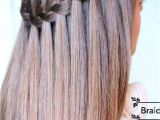 Simple Long Hairstyles Pinterest Learn How to Do A Waterfall Braid Long Hair Styles