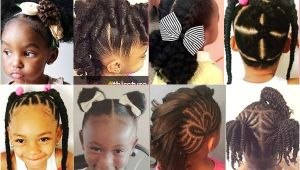Simple Natural Hairstyles for School 20 Cute Natural Hairstyles for Little Girls