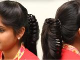 Simple Puff Hairstyles for Girls ☆everyday Hairstyles for School College Girls ☆5 Min Everyday