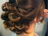 Simple Romantic Hairstyles Low Curly Bun Hair In 2019
