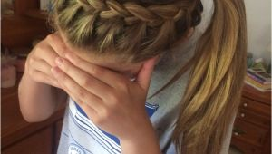 Simple Volleyball Hairstyles Volleyball Hair Hair Care& Styles