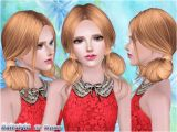 Sims 3 Hairstyles Download Free Two Buns Hairstyle Sims 3