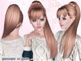 Sims 3 Hairstyles Easy Download Side Ponytail Hair 191 by Skysims Sims 3 Downloads Cc Caboodle
