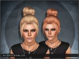 Sims 3 University Hairstyles Download Sims 3 Hair Bun