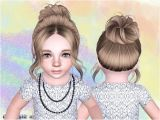 Sims 3 Wedding Hairstyles Download Sims 3 Bun for toddlers the Sims 3 Hair and Style Part L