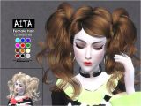 Sims 4 Cute Hairstyles Aita Pigtails Female Hairstyle Found In Tsr Category Sims 4 Female