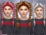 Sims 4 Cute Hairstyles Child Version Of Inna Hair Braids Found In Tsr Category Sims 4