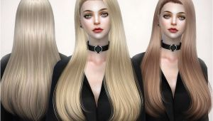 Sims 4 Cute Hairstyles the Long Hair for the Sims 4 Found In Tsr Category Sims 4 Female