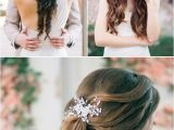 Soft Hairstyles for Weddings Deer Pearl Flowers Wedding Colors & Ideas