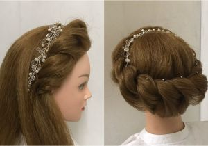 Some Easy and Beautiful Hairstyles 2 Beautiful Hairstyles with Rope Braid Easy Hairstyles