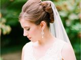 Sophisticated Wedding Hairstyles Bridal Hairstyles with Long Veils She Said United States
