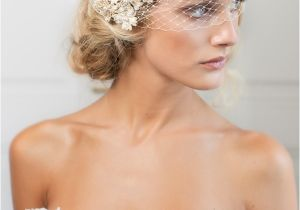 Sophisticated Wedding Hairstyles Stylish and sophisticated Birdcage Veils Chic Vintage
