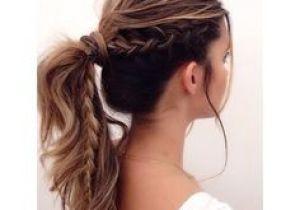 Sporty Hairstyles for Women Dutch Braid Ponytail Braids Pinterest