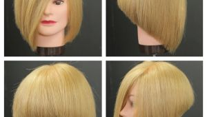 Stacked Bob Haircut Tutorial Stacked Bob with Long Face Framing Bangs for African