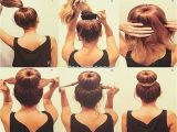 Step by Step Easy Hairstyles for Medium Length Hair Easy Updos for Medium Length Hair Step by Step