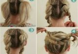 Steps to Make Easy Hairstyles Bun Hairstyles for Your Wedding Day with Detailed Steps