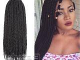 Straight Micro Braids Hairstyles Wet N Wavy Micro Braids Hairstyles Fresh wholesale Classical Black