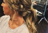 Summer Hairstyles for Long Hair Braids Prom Hair Ponytail Updo Braid Hair Pinterest