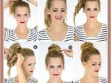 Super Easy Hairstyles for Medium Length Hair Cute Quick Updos for Shoulder Length Hair