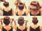 Super Easy Hairstyles for Medium Length Hair Easy Updos for Medium Length Hair Step by Step