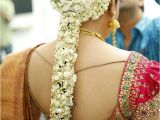 Tamil Wedding Hairstyles Pelli Poola Jada south Indian Bridal Hair Style
