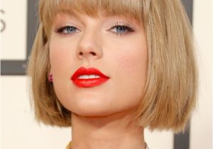 Taylor Swift Bob Haircut Hottest Hairstyles From Grammy Awards 2016