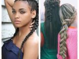 Teenage Girl Braided Hairstyles Seven Various Ways to Do Braid Hairstyles for Teenagers