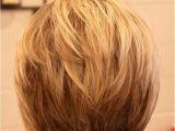 The Back Of Bob Haircuts Short Bob Hairstyles Layered Back Hollywood Ficial