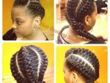 Three Braid Hairstyles 3 Goddess Braids Hair Pinterest