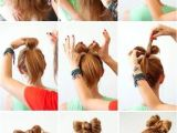 Tied Up Hairstyles Easy Diy Bow Tie Hairstyle Diy Easy Diy Diy Beauty Diy Hair Diy Fashion