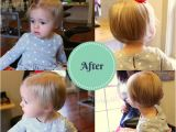 Toddler Girl Bob Haircut Madelyn S First Haircut Mullet to Bob Transformation