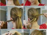 Top Ten Easy Hairstyles top 10 Fashionable Ponytail Tutorials top Inspired