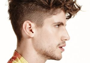 Trendy Haircuts for Men with Curly Hair 2016 Men's Trendy Undercut Hairstyles for Curly Hair