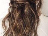 Twist Half Updo Hairstyles Twisted Half Up Frisuren In 2018 Pinterest