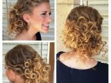 Up Hairstyles for Short Curly Hair Prom Hairstyles for Curly Hair Half Up Half Down