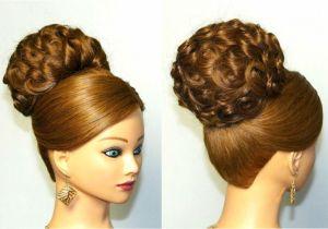 Up Hairstyles Long Hair Youtube Elegant Wedding Updo for Long Hair Wedding Ts